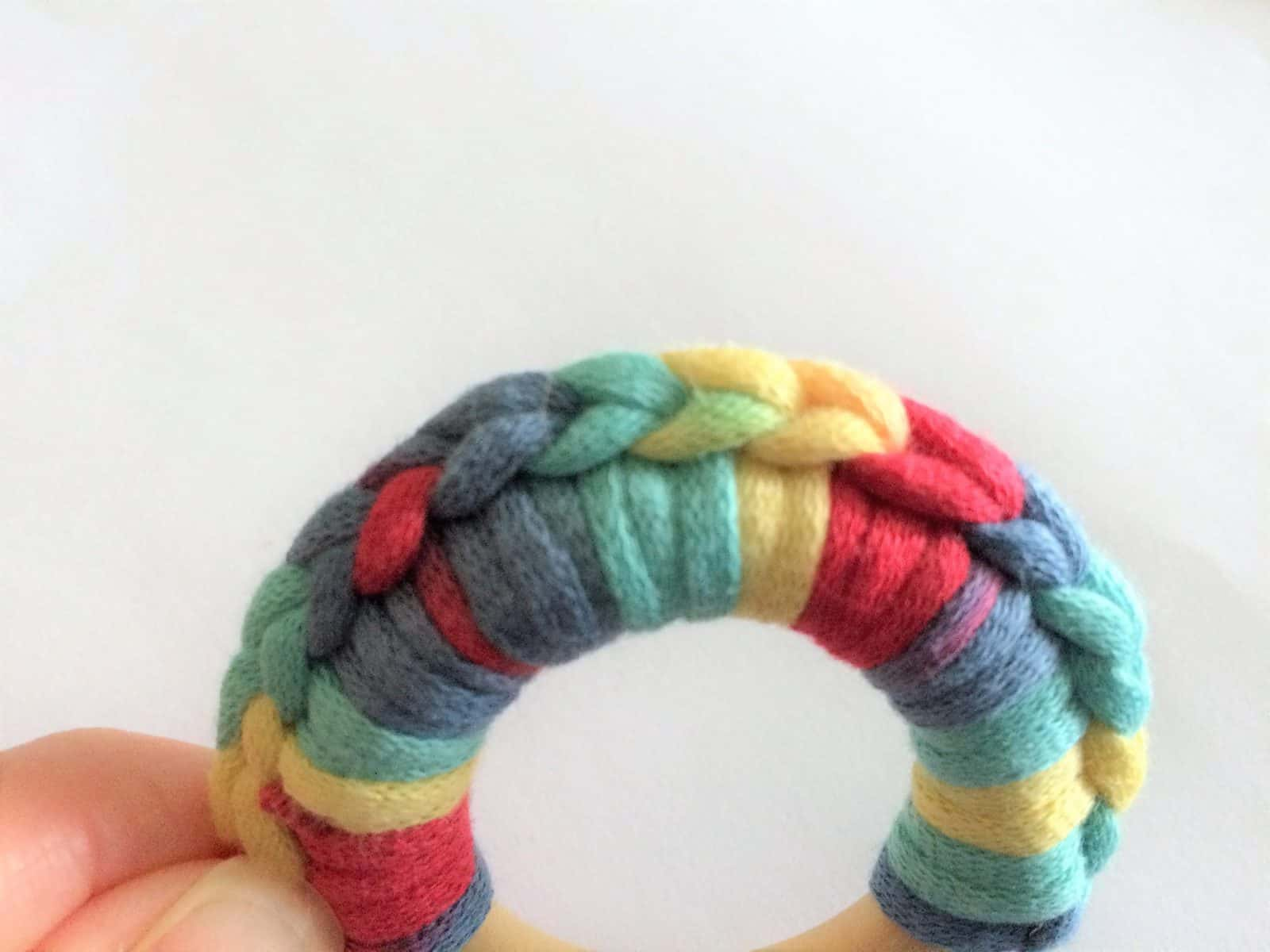 Wood Ring Teether Crochet Tutorial