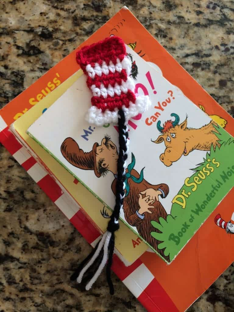 Dr. Seuss inspired bookmark