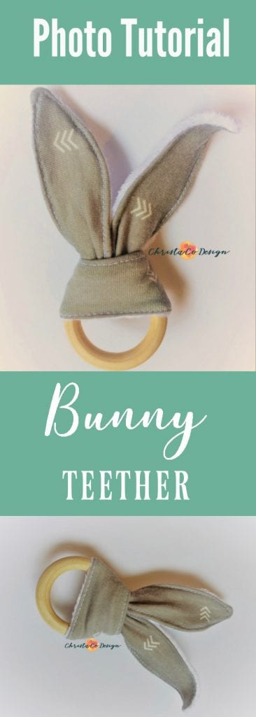 bunny teether tutorial