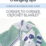 picture of pin image with text color changing tips for c2c crochet blankets