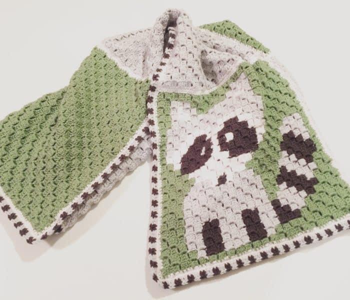 Corner to Corner Crochet Blanket Tips on Color Changes