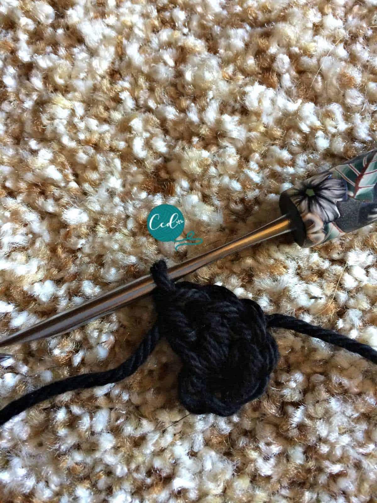 Crochet sandal tutorial granny dcs.