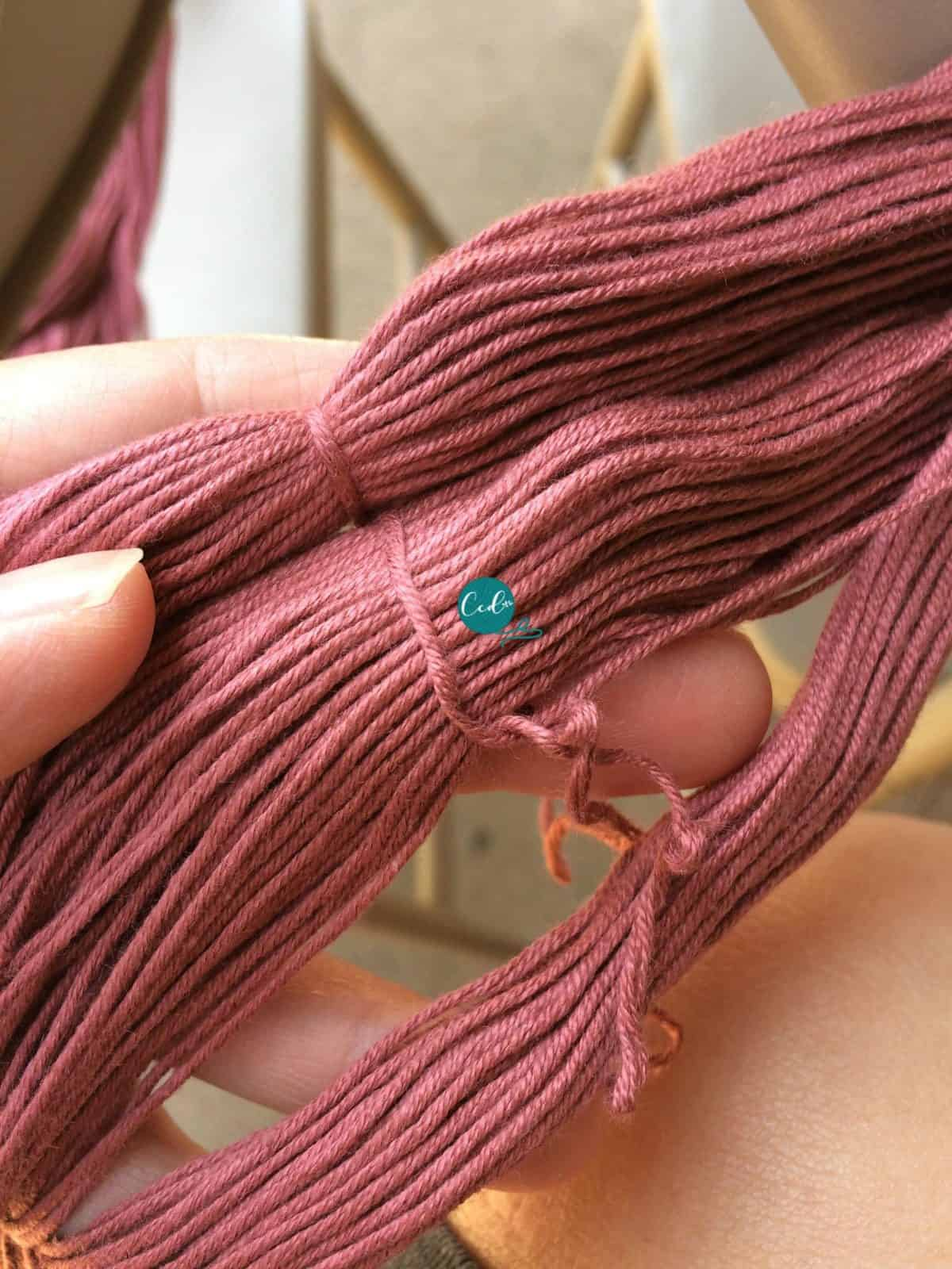 Untie the knots.