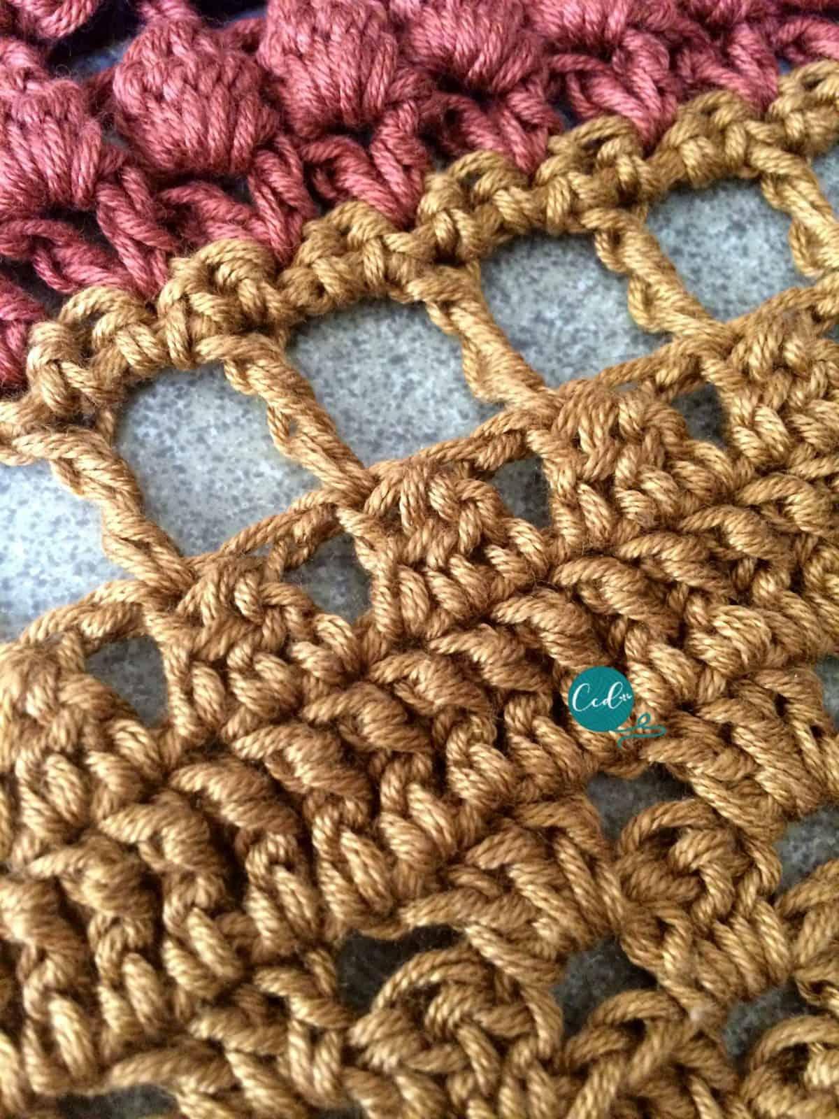 Cluster Stitch Crochet Video & Photo Tutorial