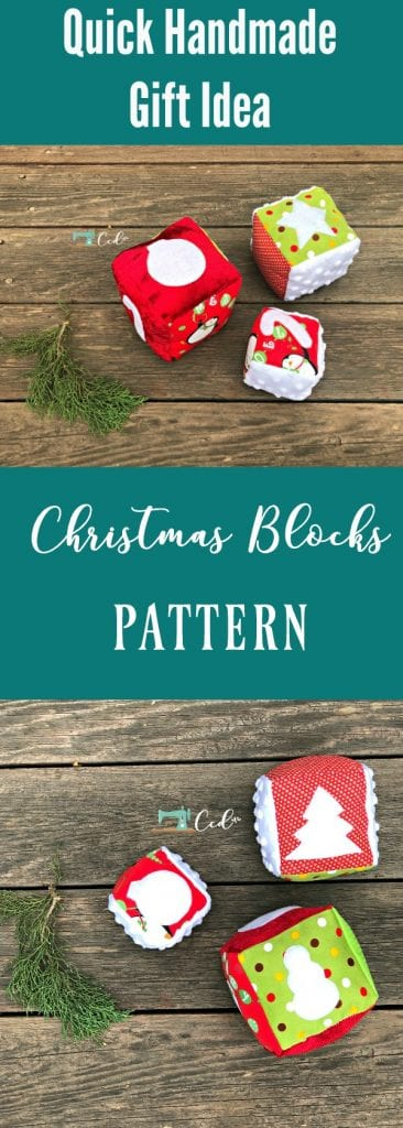 Pin image with christmas blocks.