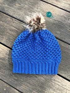 pom hat crochet tutorial