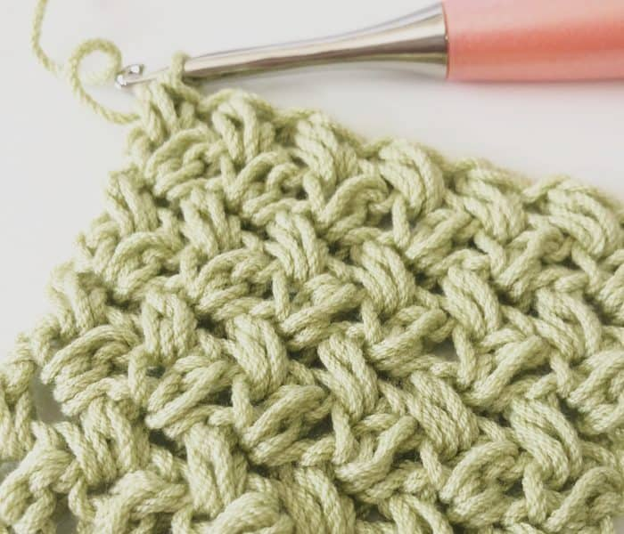 How to Crochet the Mini Bean Stitch Step by Step