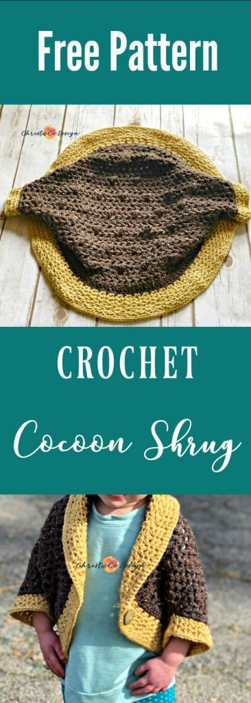 picture of pin image of free cocoon shrug pattern