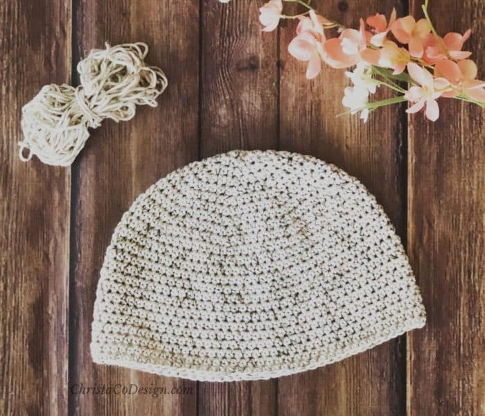 Cotton Crochet Chemo Cap Pattern