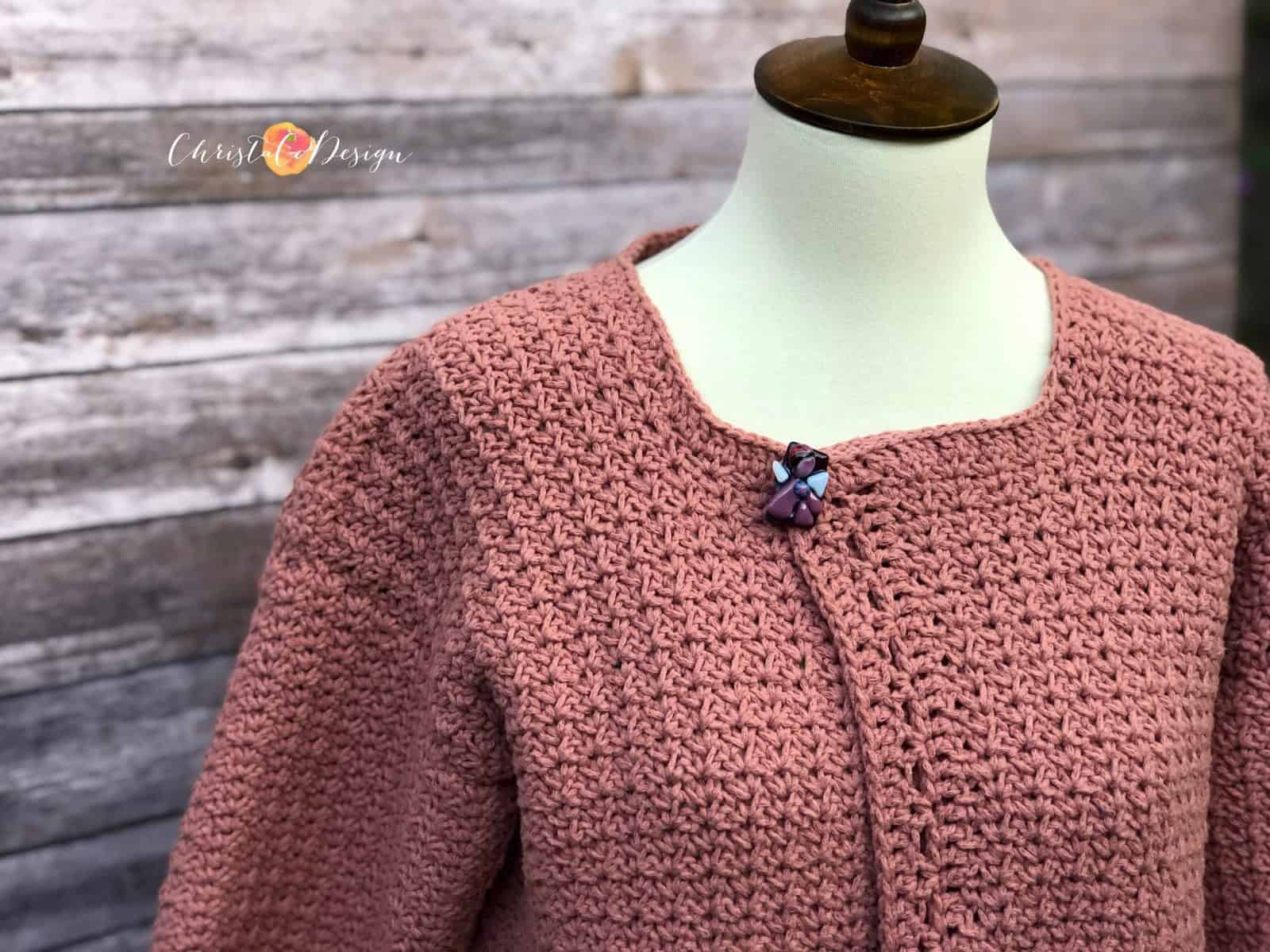 The Positano Crochet Cardigan a Free Pattern with Pockets!