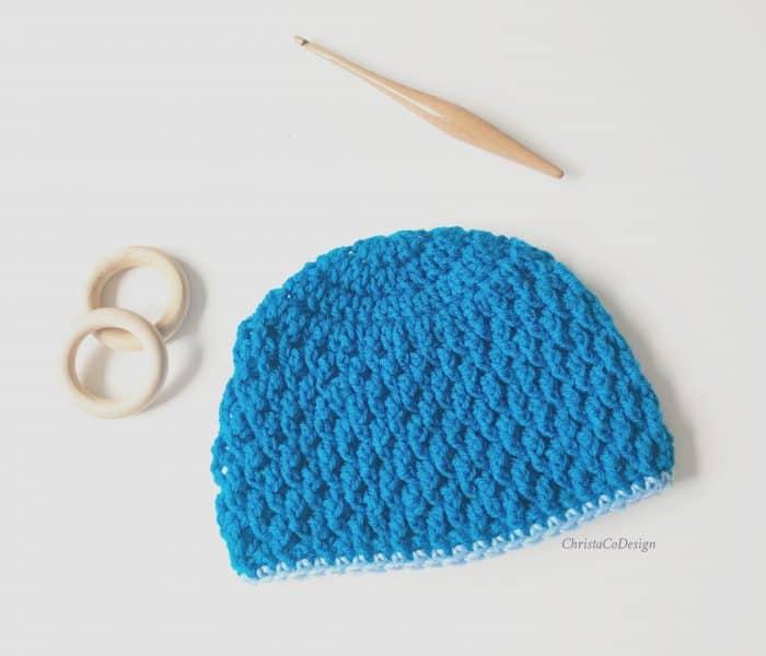 Matteo Beanie Free Crochet Pattern