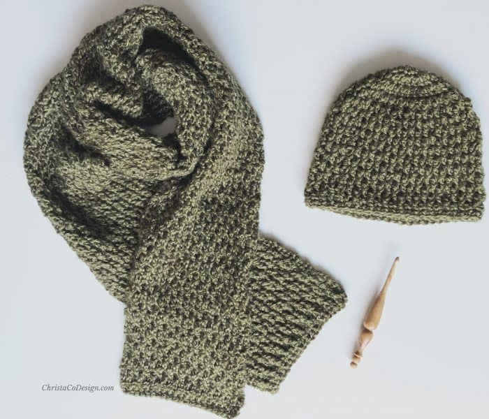 Matteo Beanie a Free Crochet Pattern in All Sizes