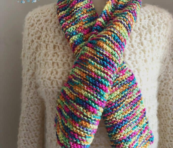 Easy Scarf Knitting Pattern Free Beginner Scarf