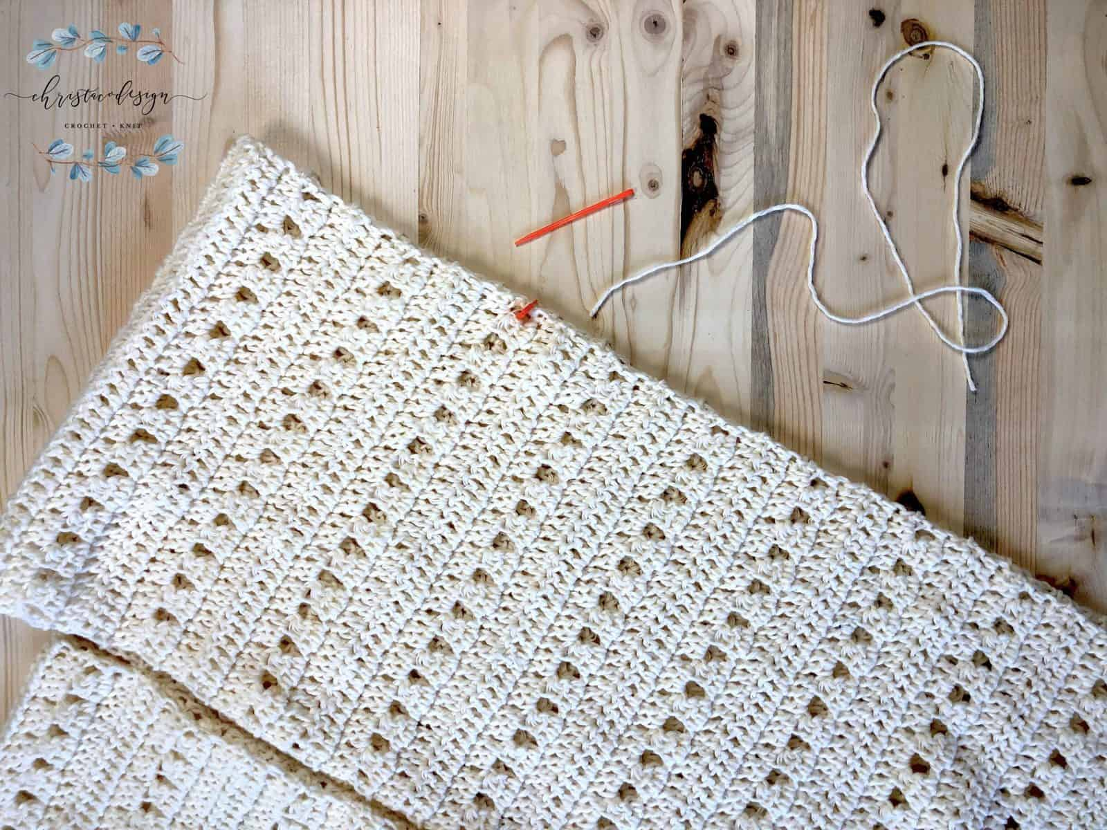 Picture of crochet cardigan armhole