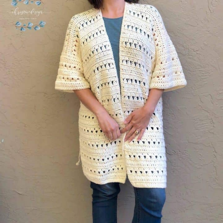 Picture of cardigan front