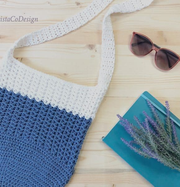 Mercato Crochet Crossbody Shoulder Bag Free Pattern