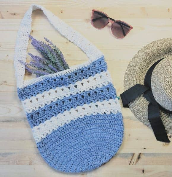 The Violet Free Market Tote Crochet Pattern
