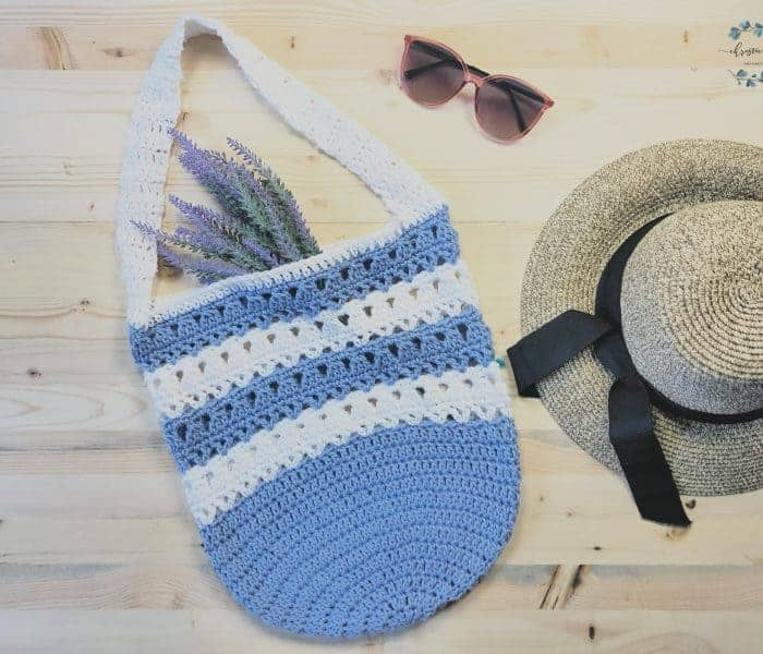 The Violet Free Market Tote Crochet Pattern