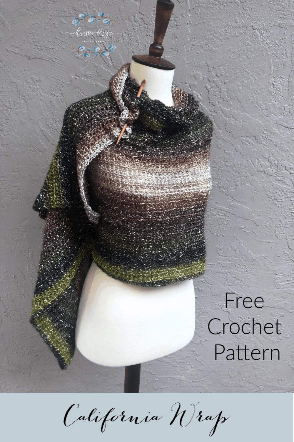 picture of pin image free crochet wrap pattern
