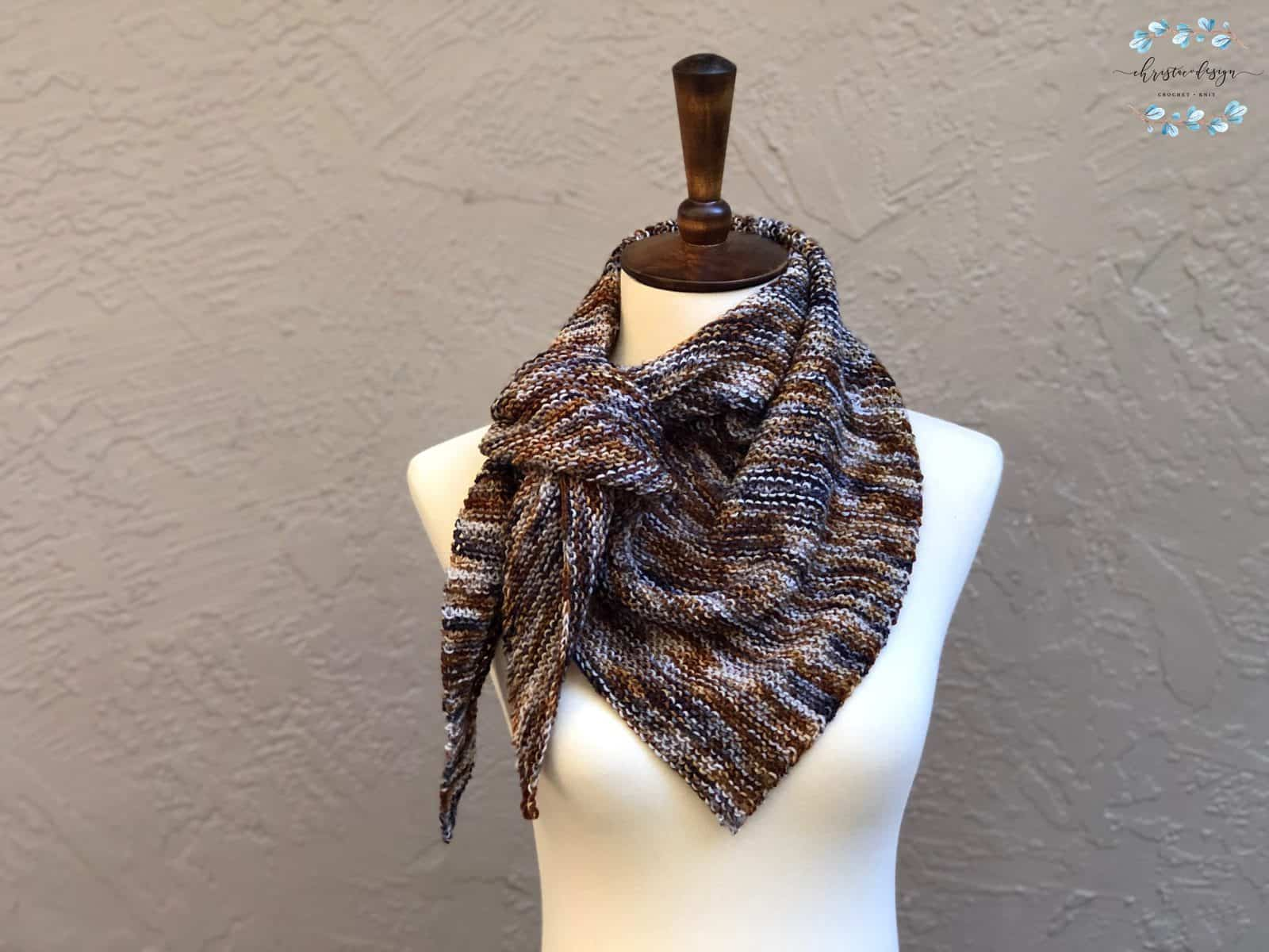 Tostata Scarf a Free Knitting Pattern