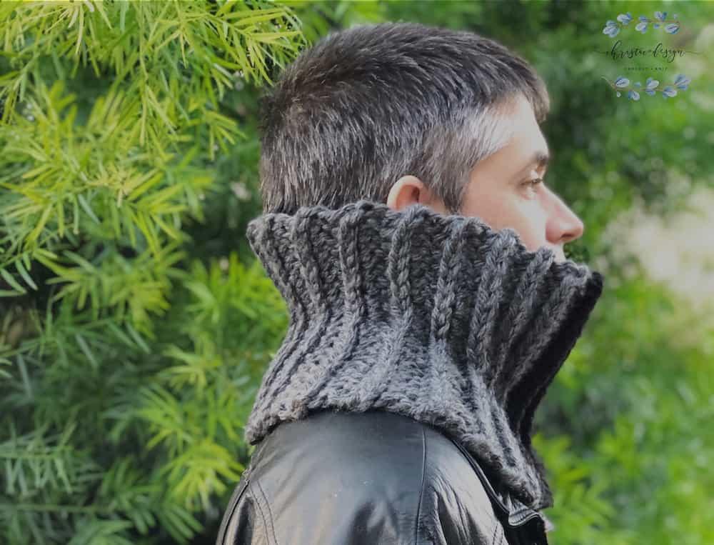 Granite Cowl a Free Crochet Pattern