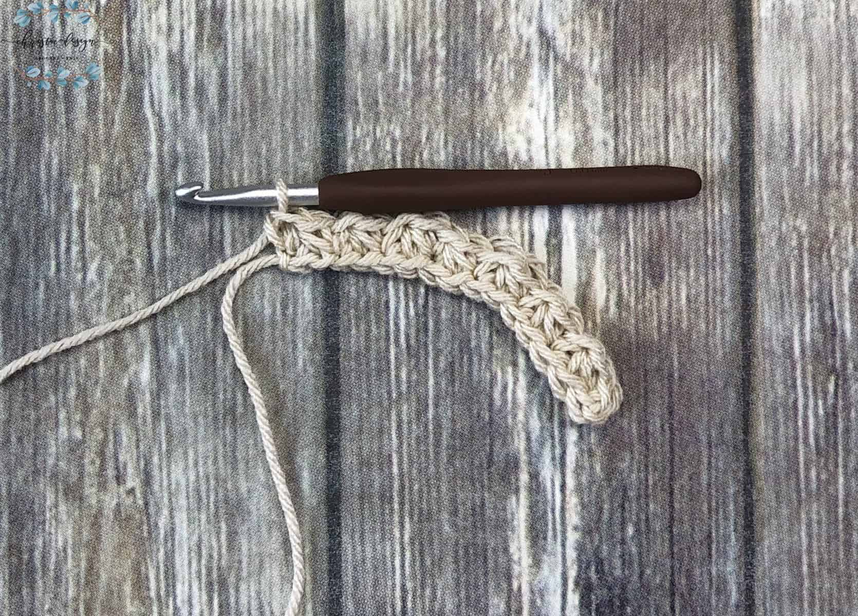 picture of last single crochet