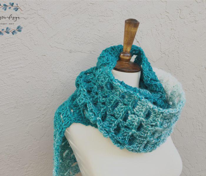 Alza Scarf a Free Crochet Pattern