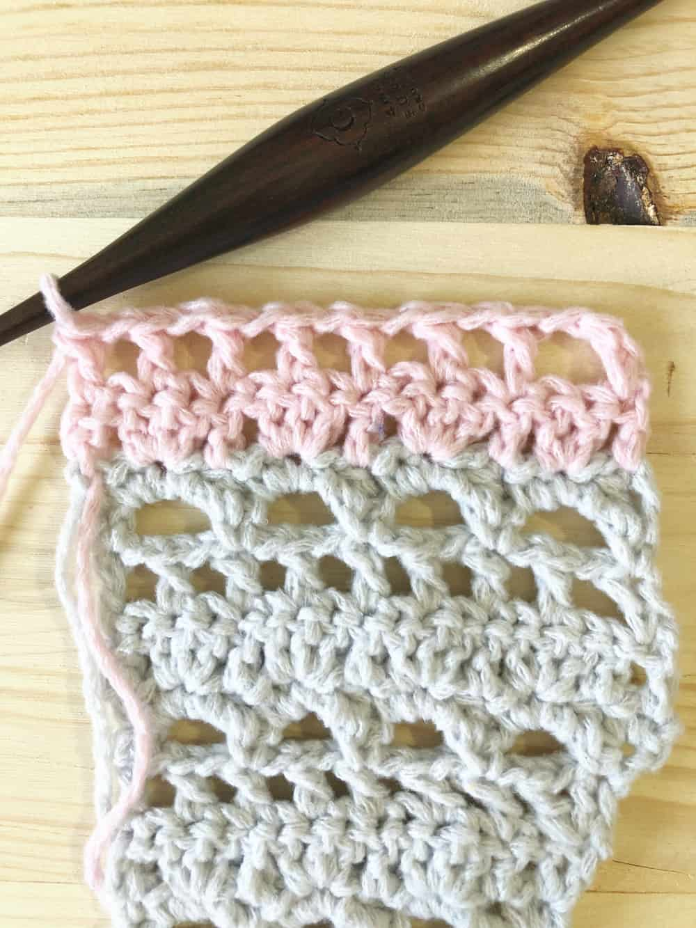 Picture of R 98 shawl tutorial