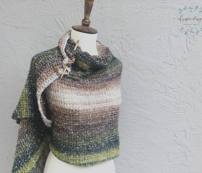 California Wrap Free Crochet Summer Wrap Pattern