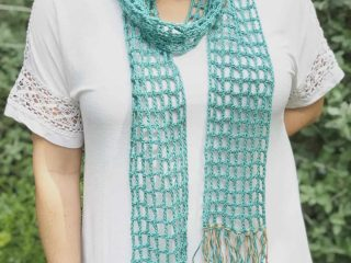 picture of teal scarf