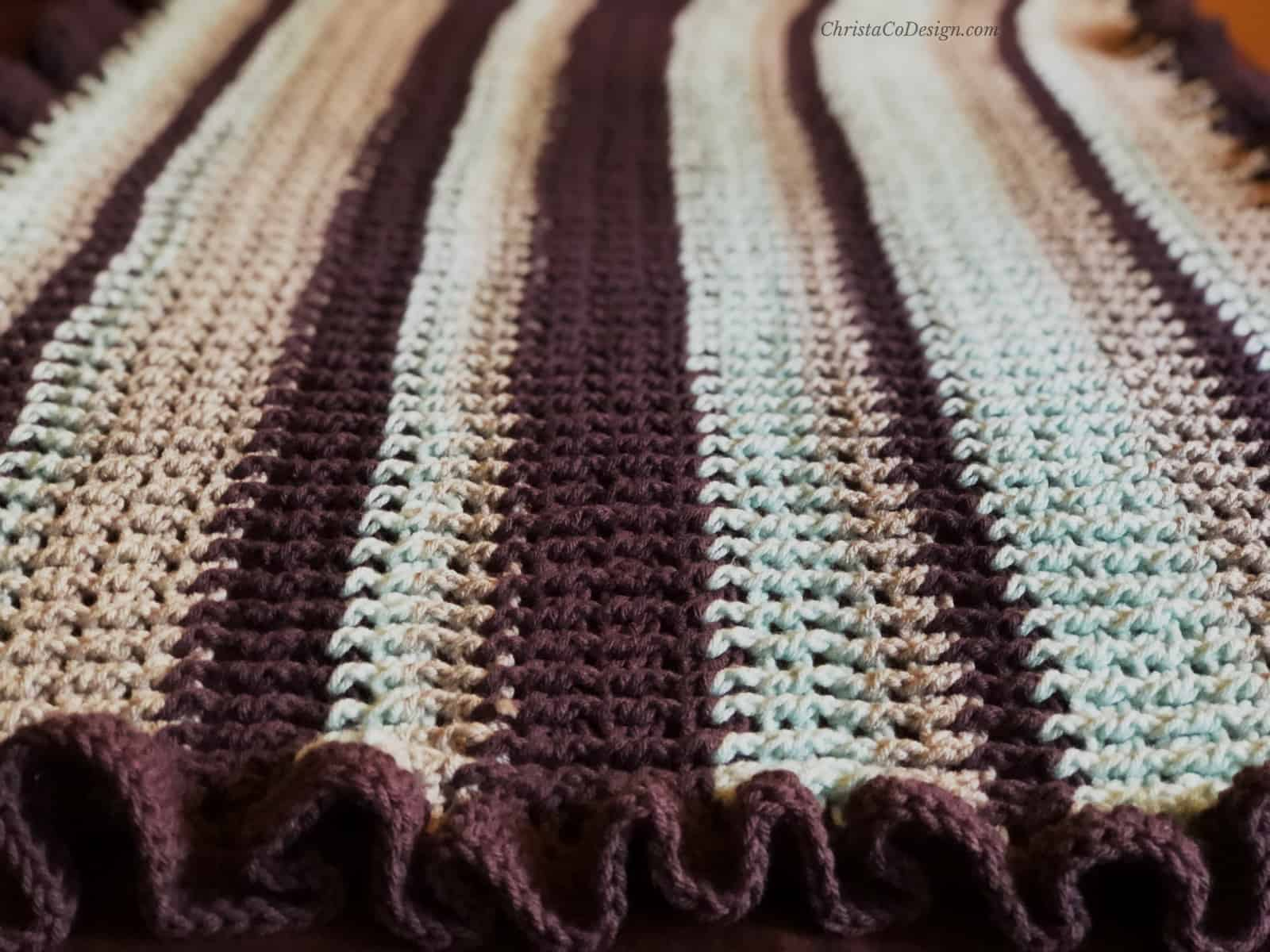 picture of striped textured wrap