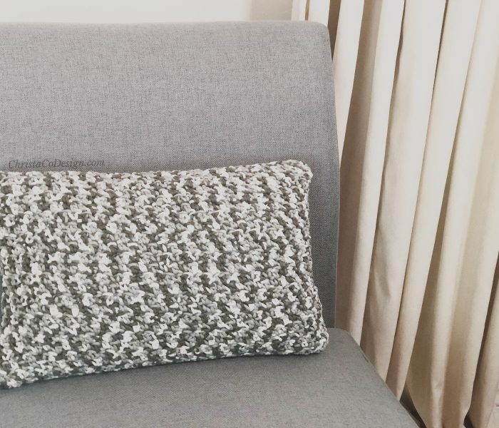Lombardy Pillow a Free Crochet Pillow Pattern