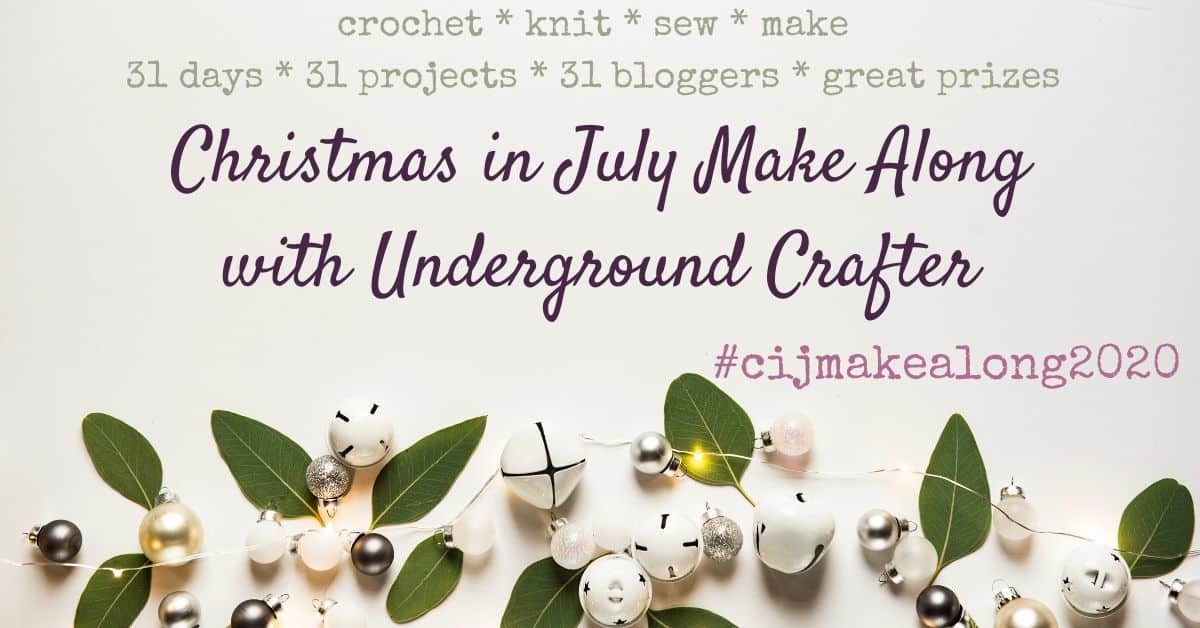 picture with text Christmas in July make along