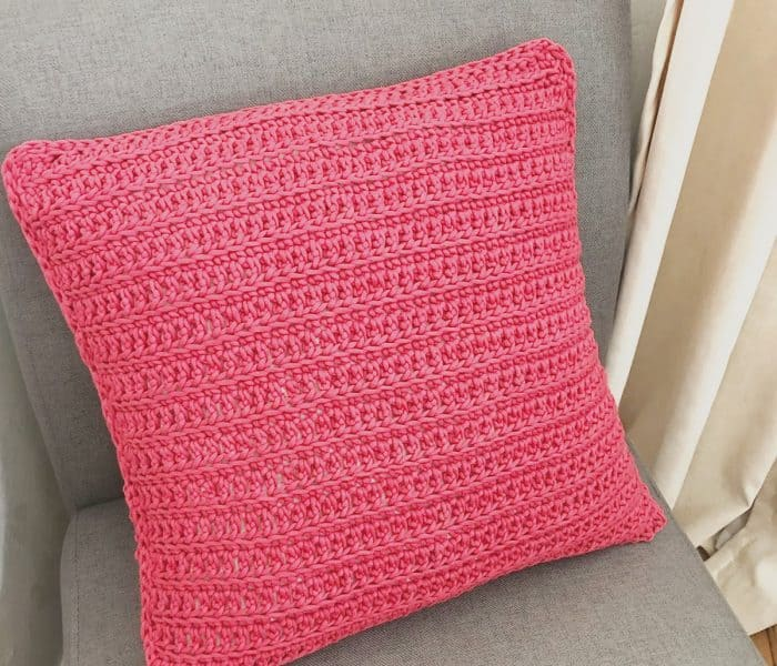 How to Crochet an Envelope Pillow Pattern the Piazza Pillow