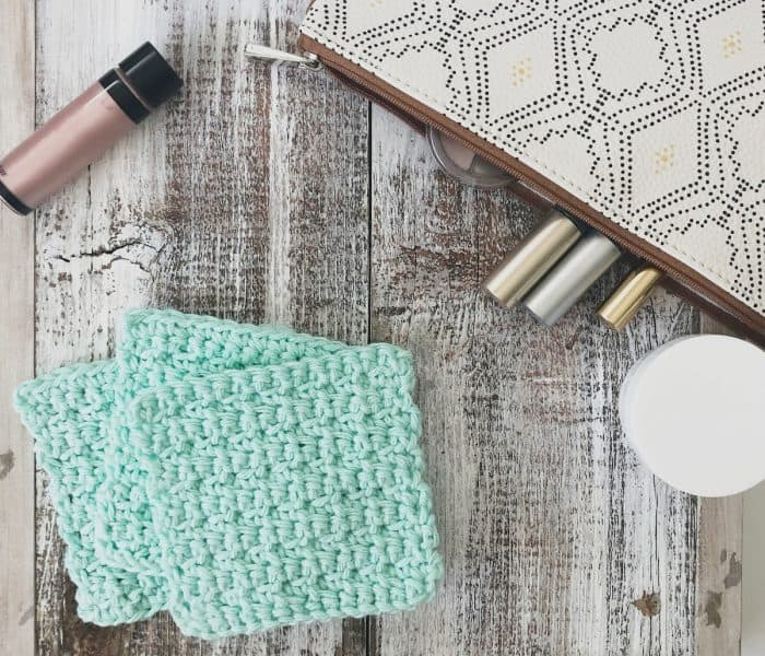 Cara Crochet Face Scrubby Pattern Free and Easy For Beginners