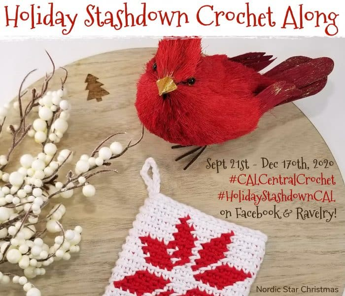 Introducing the 2020 Holiday Stashdown Crochet Along!