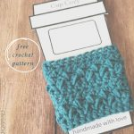 pin image with text free pattern to go cup cozy