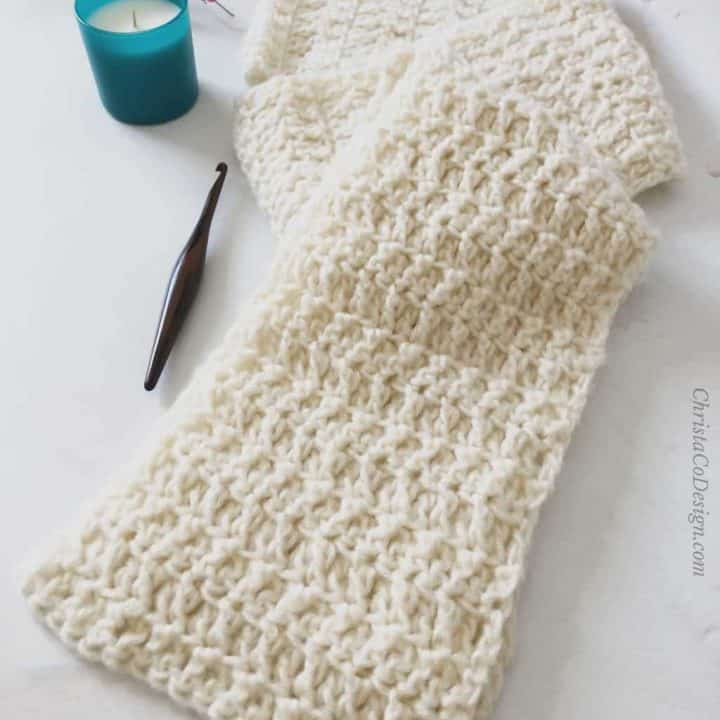 How to Crochet the Nebbia Scarf Pattern