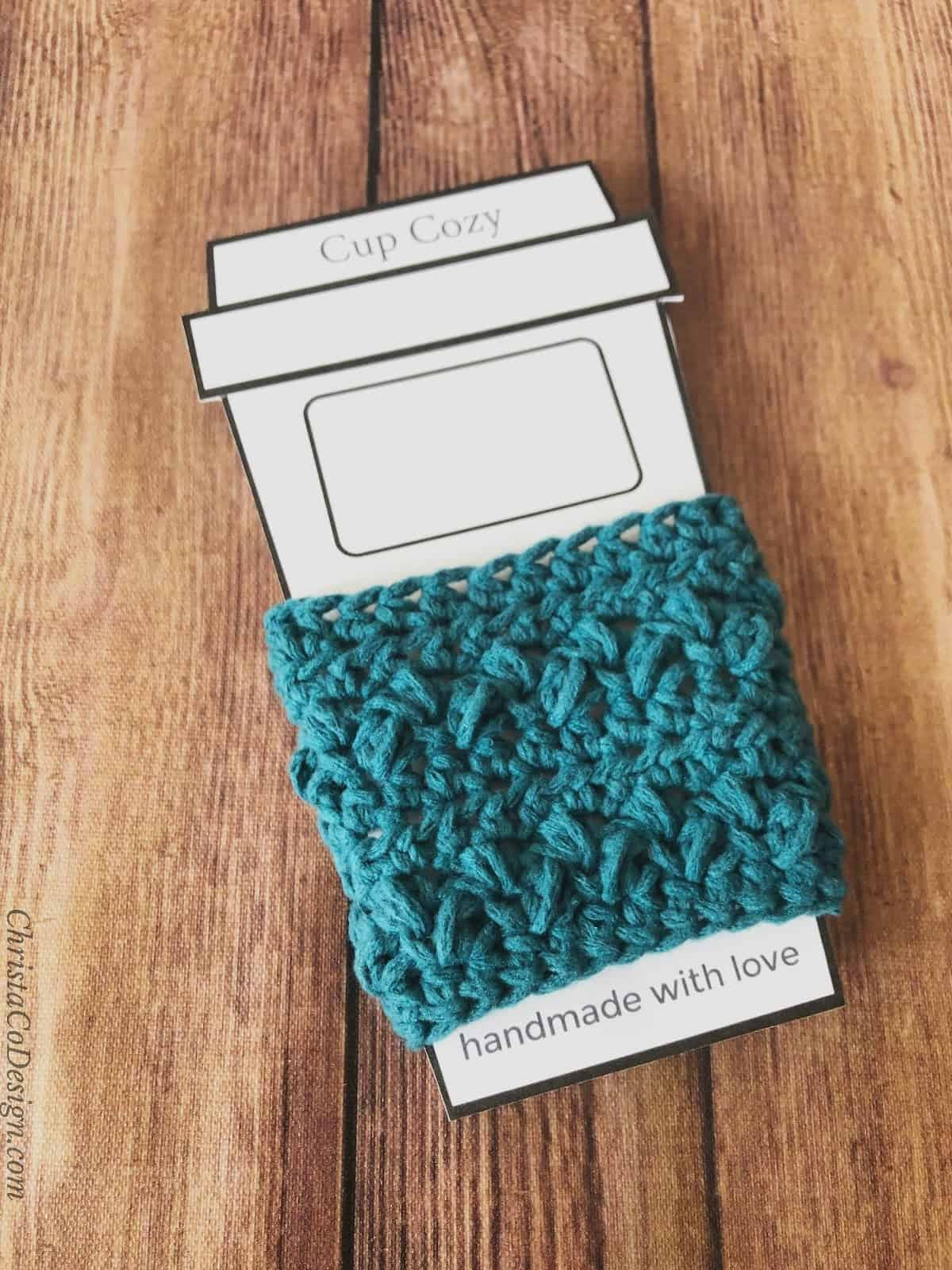 To go sleeve cup cozy in printable template