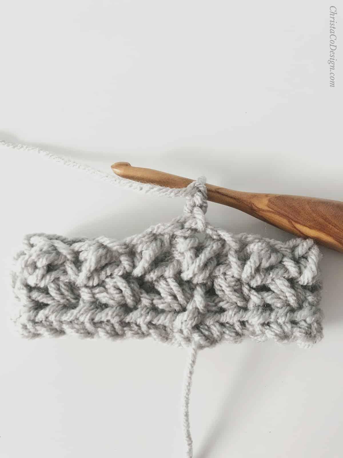 picture of crochet cozy