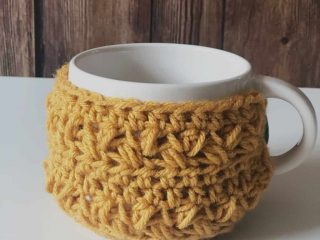 picture of crochet mug cozy