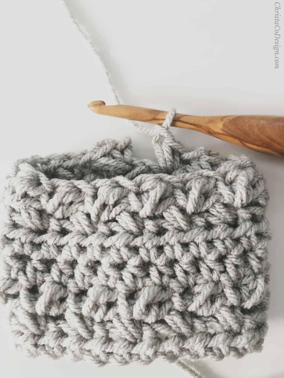 picture of crochet mug cozy pattern