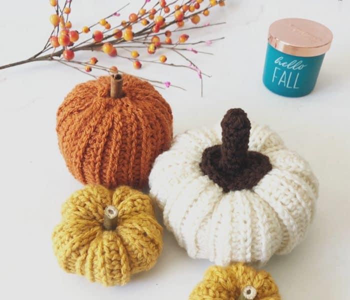 Ribbed Crochet Pumpkin Pattern a Free Crochet Pattern