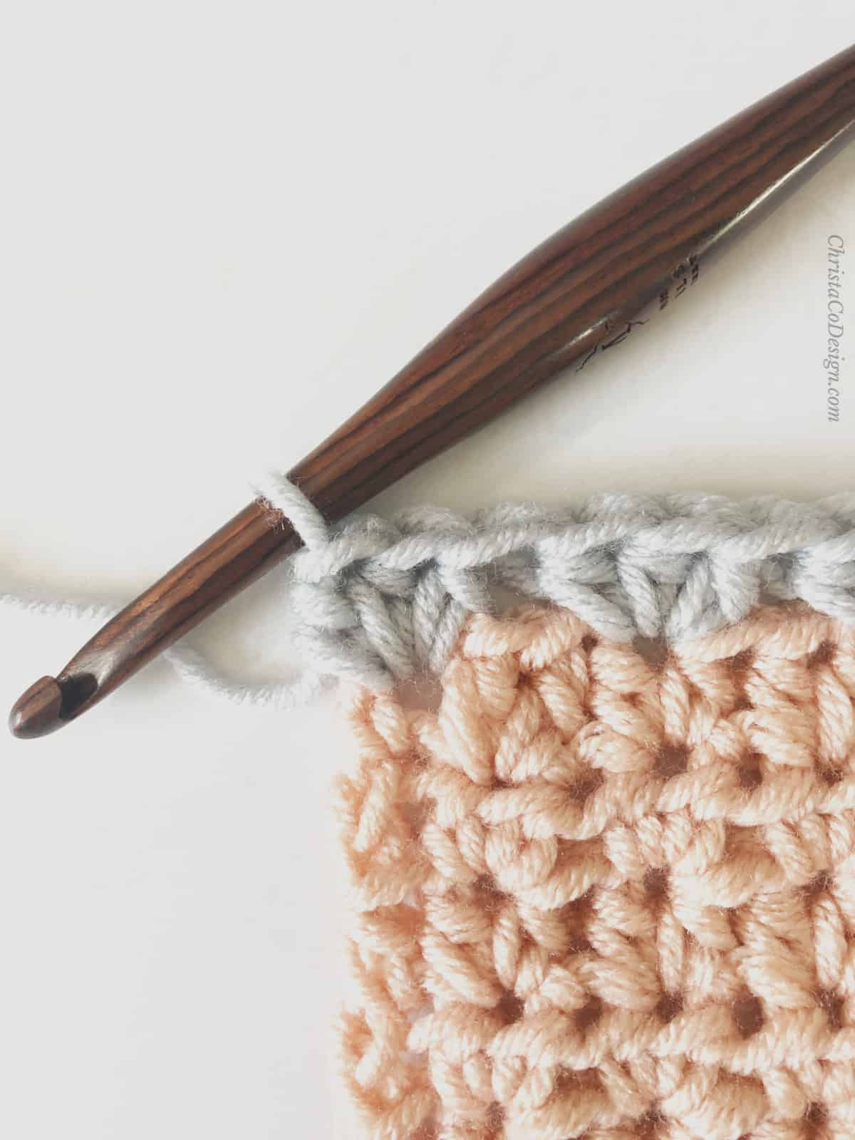 picture of crochet corner blanket pattern