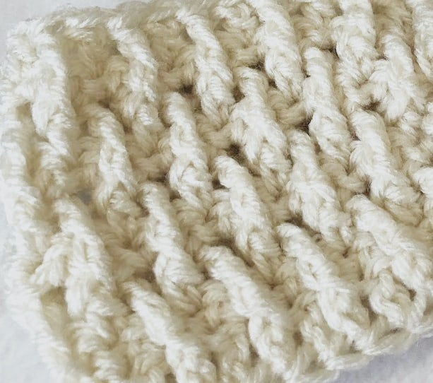 Front Post Treble Crochet Tutorial