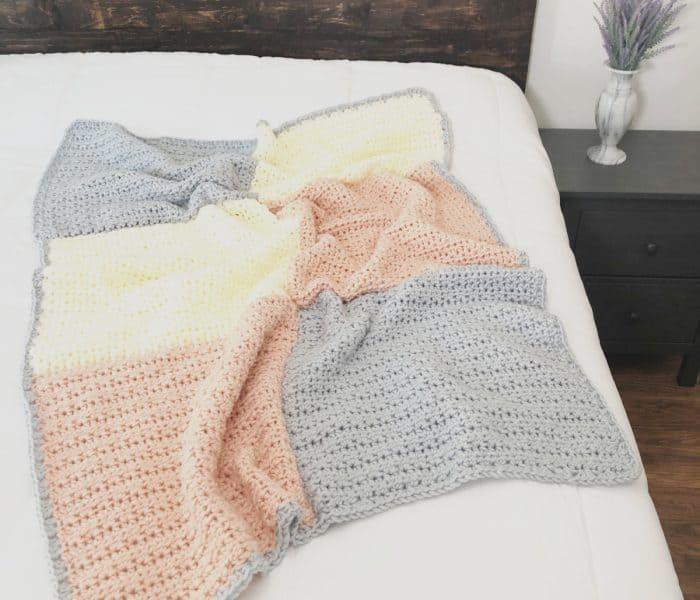 Easy Chunky Crochet Blanket Pattern: Ava Blanket