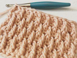 picture of alpine stitch crochet tutorial