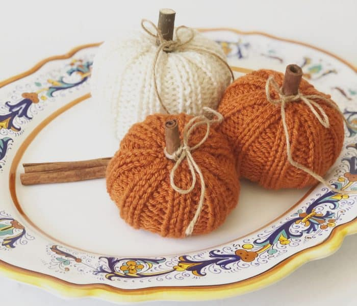 Free Pumpkin Knitting Pattern-Beginner Friendly