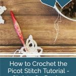 picture of pin image with picot stitch crochet