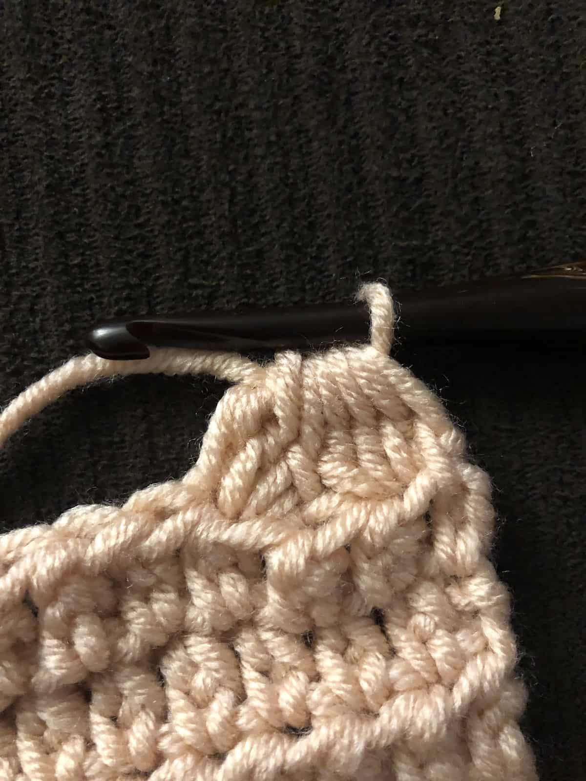 picture of 1 complete Tc twin cluster stitch